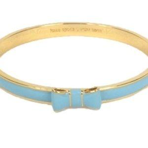 Tiffany blue Kate spade bow bangle NWT